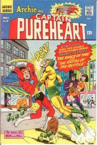 ARCHIE AS CAPT PUREHEART THE POWERFUL (1966-1967)4 F COMICS BOOK