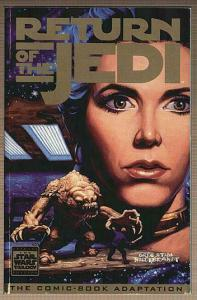 STAR WARS RETURN OF THE JEDI comic! Yoda photo cover