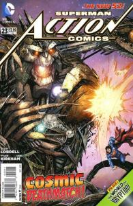 Action Comics (2nd Series) #23 VF/NM; DC   save on shipping - details inside