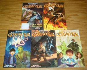 Finding Gossamyr #1-4 VF/NM complete series + FCBD - all ages fantasy 2 3 set