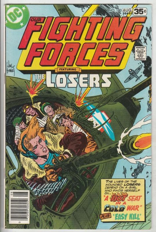 Our Fighting Forces #180 (Aug-78) VF/NM High-Grade The Losers (Capt. Storm, L...