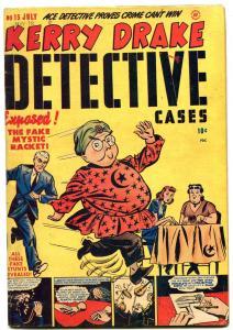 Kerry Drake Detective Cases #15 1949- Bob Powell- Golden Age Crime VG