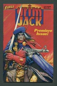 Grim Jack #1 / 9.2 NM-   August 1984