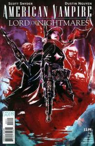 American Vampire: Lord of Nightmares #3 VF; DC/Vertigo | save on shipping - deta