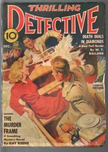 Thrilling Detective 12/1941-Rudolph Belarski GGA-crime & mystery-FN+