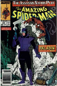 Amazing Spider-Man #320 (1963 v1) Todd McFarlane Silver Sable Newsstand NM-