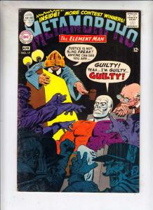 Metamorpho the Element Man #17 (Apr-68) VG Affordable-Grade Metamorpho, Simon...