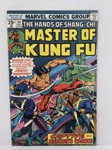 Master Of Kung Fu #34