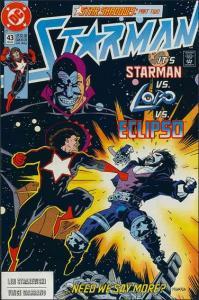 DC STARMAN (1988 Series) #43 FN+