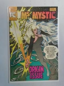 Ms. Mystic #1 (1988 2nd series) Pacific comics 8.0/VF