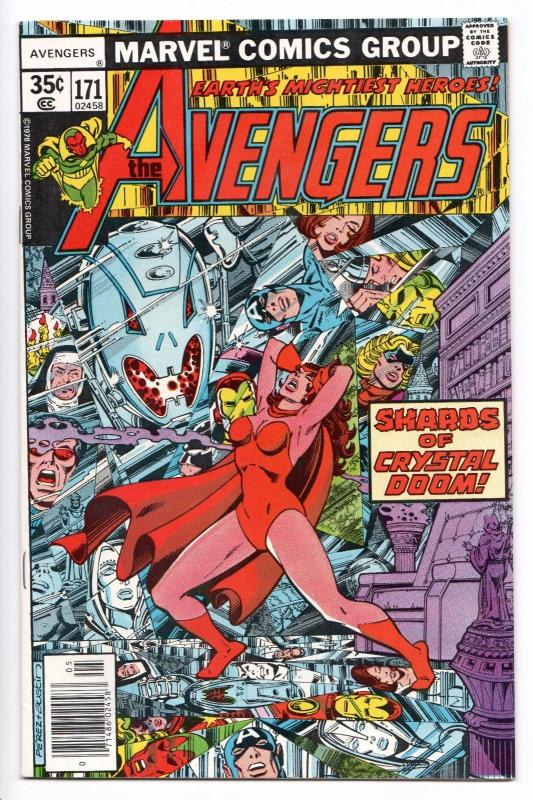 Avengers #171 - App of Ms. Marvel (Marvel, 1978) NM