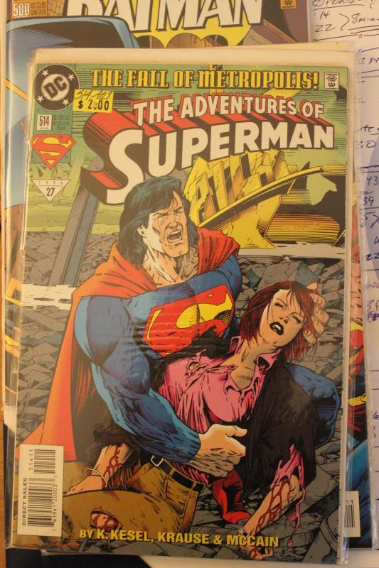 Adventures of Superman 514 9-4-nm