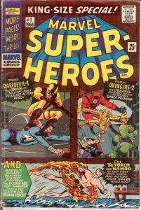 MARVEL SUPER HEROES 1 (1966) VG-  October 1966 COMICS BOOK