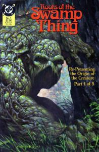 Roots of the Swamp Thing #1 FN; DC | save on shipping - details inside