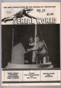 Serial World #15 1978-Brenda Starr-Video Ranger-Larry Stewart-FN