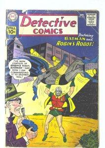 Detective Comics (1937 series) #290, Good- (Actual scan)