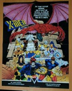 LARGER SIZE MARVEL X-MEN 2099 PROMO POSTER 22 x 17 (1992)