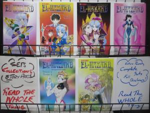 EL HAZARD: THE MAGNIFICENT WORLD Vol. 3 (Viz,2001) #1-6 Complete! Manga!