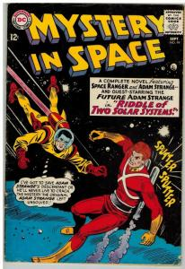 MYSTERY IN SPACE 94 G-VG Sept. 1964
