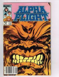 Alpha Flight #10 FN/VF Marvel Comics Comic Book May 1984 DE42