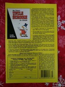 Walt Disney's Mickey & Donald #1 Merry Christmas Gladstone 1988