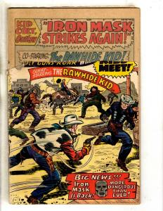 Kid Colt Outlaw #121 GD Marvel Comic Book Western Cowboys Action Six Shooter FH2