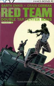 Red Team: Double Tap, Center Mass #7 VF/NM; Dynamite | save on shipping - detail