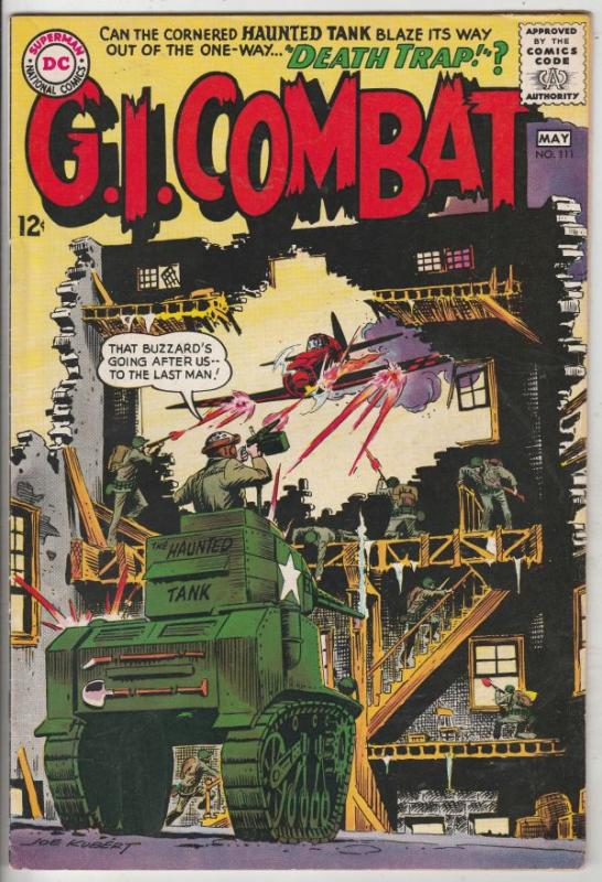 G.I. Combat #111 (Jan-66) FN/VF Mid-High-Grade The Haunted Tank