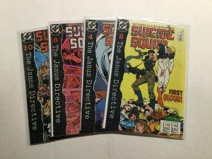 Suicide Squad 27-30 27 28 29 30 Janus Directive Lot Near Mint Nm Dc Comics