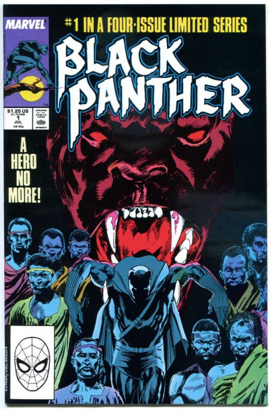 BLACK PANTHER #1 2 3 4, VF/NM, T'Chaka, Supremacists, Cowan, 1988, more in store