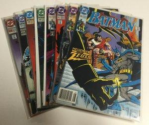 Batman 481 482 492 493 496 498 499 500 Vf Very Fine 8.0 DC Comics