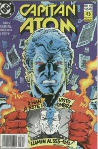 Capitan Atom numero 13: Vida tras la muerte