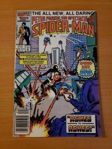 Spectacular Spider-Man #118 Newsstand Edition ~ NEAR MINT NM ~ 1986 Marvel