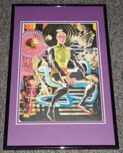 Metron 1969 Framed 11x17 Photo Poster Display Official Repro Jack Kirby