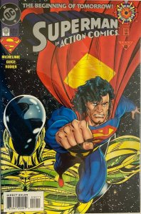 Superman in action comics #0 8.0 VF (1994)