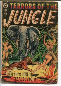Terrors of The Jungle #8 1954-Star-LB Cole-Rulah-Jo-Jo-Jay Disbrow-FR