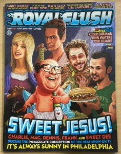 ROYAL FLUSH #7 (2011) Rob Zombie! Always Sunny! Roger Corman! Roddy Piper!VF-NM