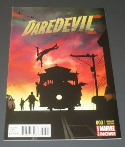 Daredevil #3 NM 9.4 High Grade White Pages Opena 1:50 Variant Marvel Comic Book