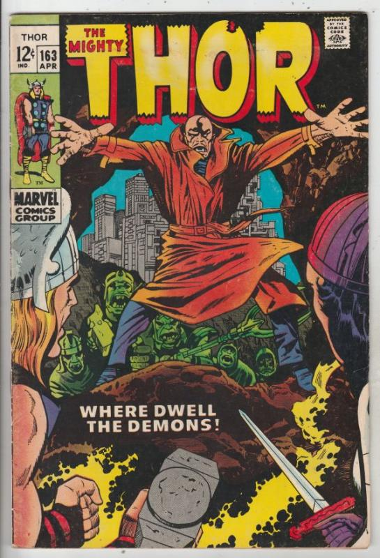 Thor, the Mighty #163 (Apr-69) VF High-Grade Thor