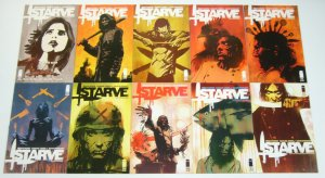 Starve #1-10 VF/NM complete series  brian wood  fight club meets master chef