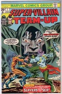 Super-Villain Team-Up   # 1 VG Doctor Doom/Sub-Mariner