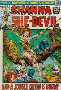 Shanna the She-Devil (1st Series) #1 VG; Marvel | low grade comic - save on ship