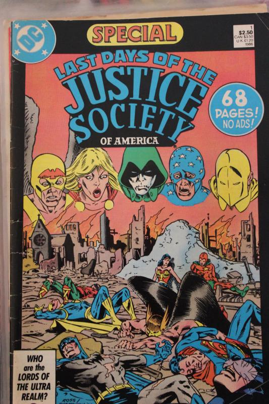 Last Days of the Justice Society  1 VG