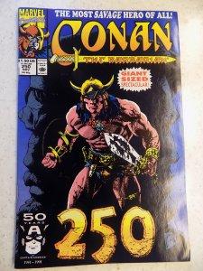 CONAN THE BARBARIAN # 250 MARVEL SAVAGE SWORD SORCERY FANTASY
