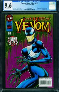 Venom: Sinner Takes All #3 CGC 9.6-1995-She-Venom 2006596010