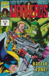 Warheads #9 FN; Marvel UK   save on shipping - details inside