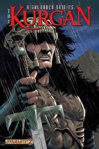 Highlander Origins: Kurgan #2B VF/NM; Dynamite | save on shipping - details insi