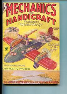 MECHANICS AND HANDICRAFTS-#1-WTR-1933-PULP-SOUTHERN STATES PEDIGREE-fn-