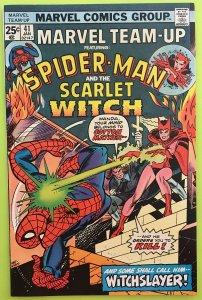 MARVEL TEAM-UP 41 SPIDER-MAN & THE SCARLET WITCH 1976