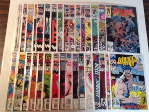 Wonder Man 1-29 Annual 1-2 One Shot Near Mint Lot Set Run